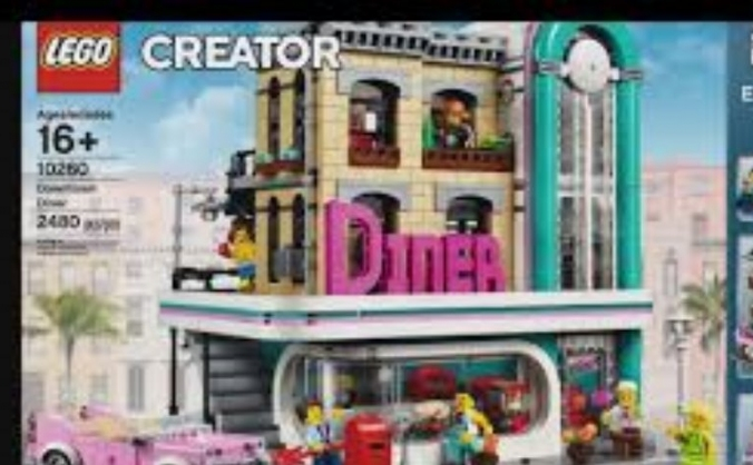 Help Me Get The Lego Downtown Diner