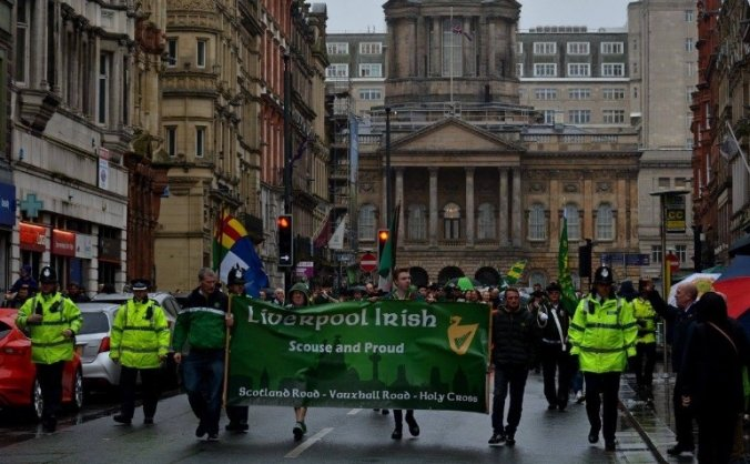 St Patrick's Day Parade Funding Liverpool
