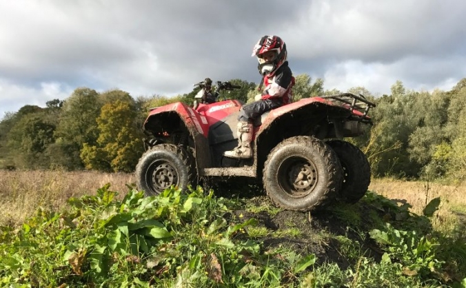 Help my son get back his quad bike back! Stolen