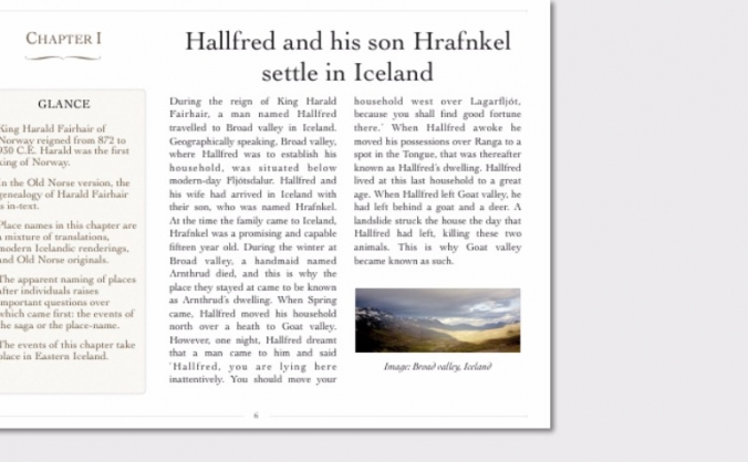 Plain English translation of Hrafnkels saga