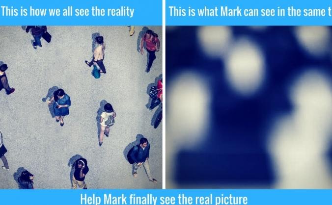 Help Mark get his vision back