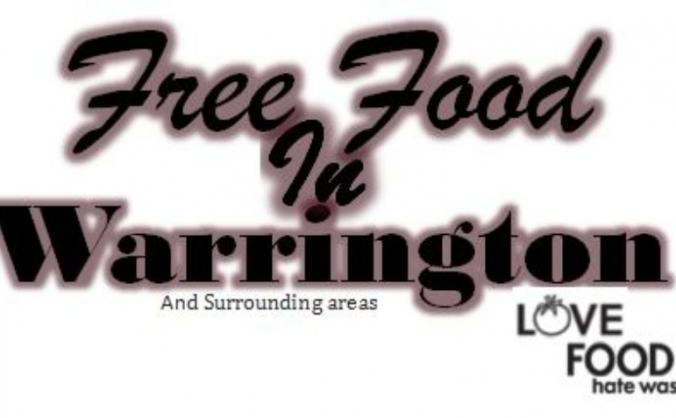 Free Food in Warrington