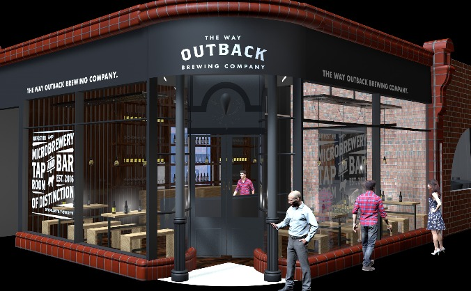 The Way Outback Brewing Co. Microbrewery build.
