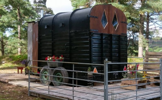 Arnor The Rangers Hut - eco pod in the Highlands