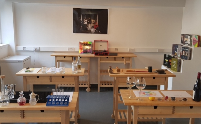 Summerhall Drinks Lab - tasting & training space
