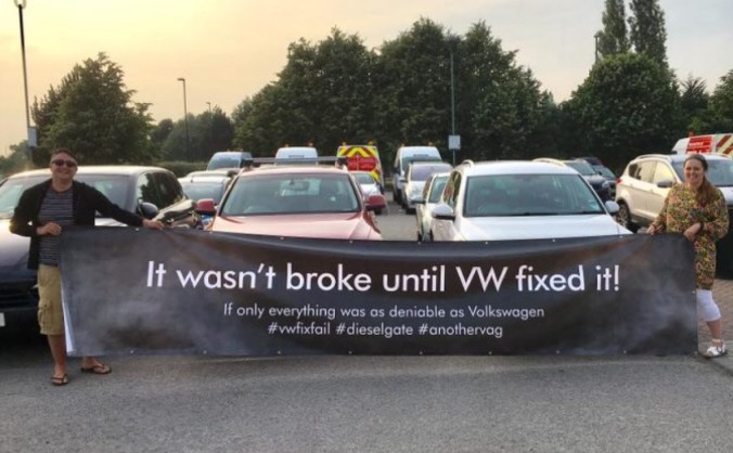 We  want a van to carry our #vwfixfail message