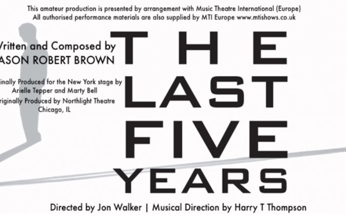 The Last Five Years-Edinburgh Festival Fringe '18