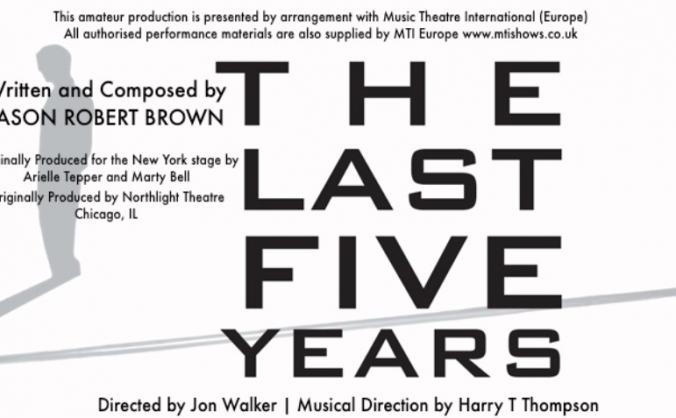 The Last Five Years-Edinburgh Festival Fringe '18