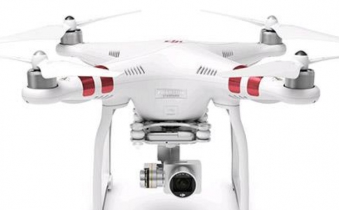 A drone to visit Hertfordshire from above!