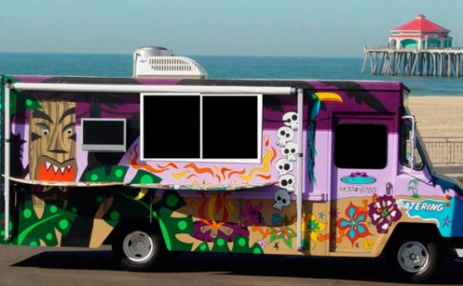 Dream to have a food truck!