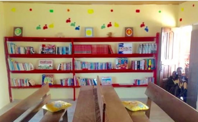 Help to build a school library in rural Ghana