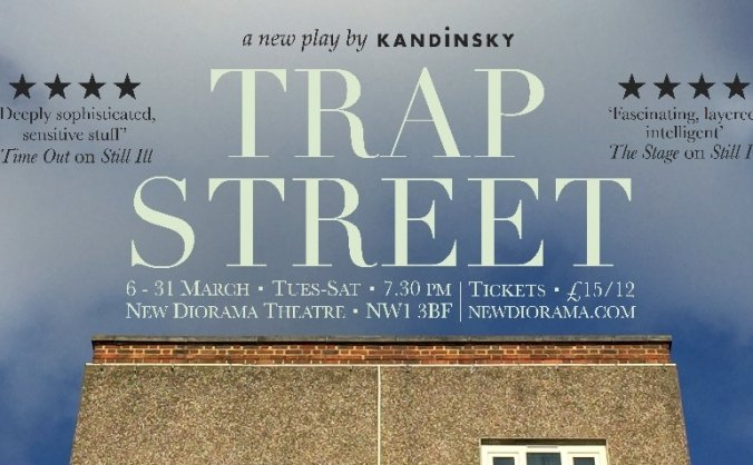 Trap Street at New Diorama Theatre, 2018