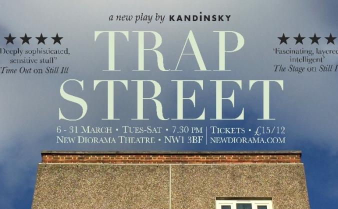 Trap Street at New Diorama Theatre, 2018