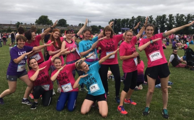 Let's Run Girls Leader Fundraising