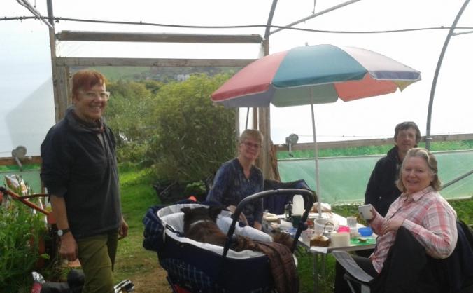 The biodynamic garden Camserney