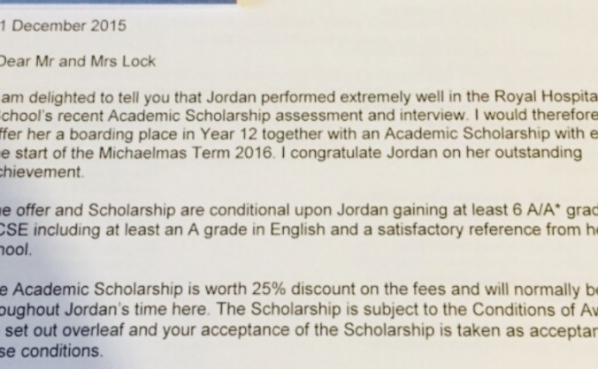 A Level offer - Please keep my dreams alive
