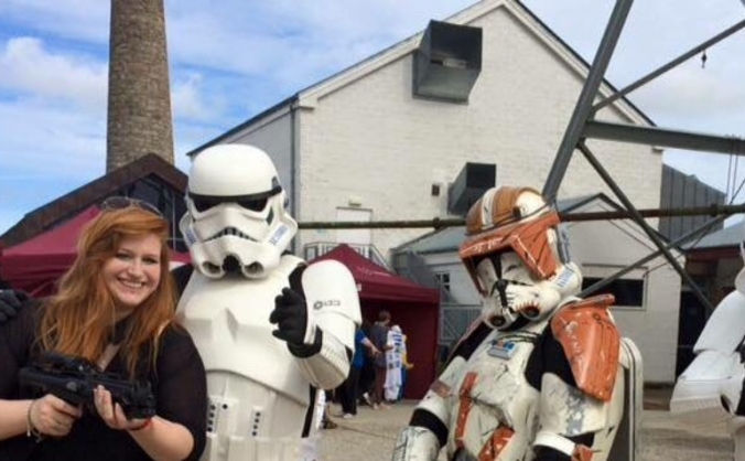 Becoming a Stormtrooper!