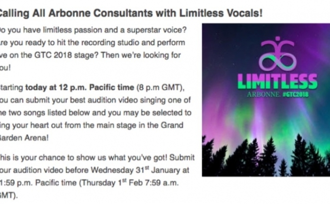 Help Sarah Louise Sing at THE MGM