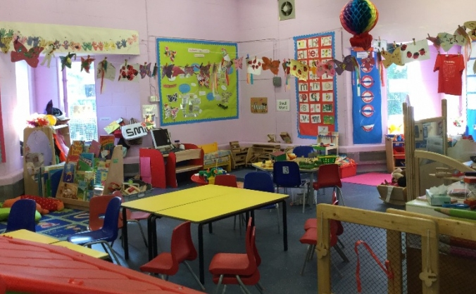 An upgrade and new start for our charity preschool