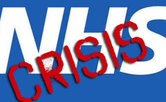 NHS in Crisis protest