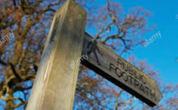 Help establish rights of way at Langdale Wood