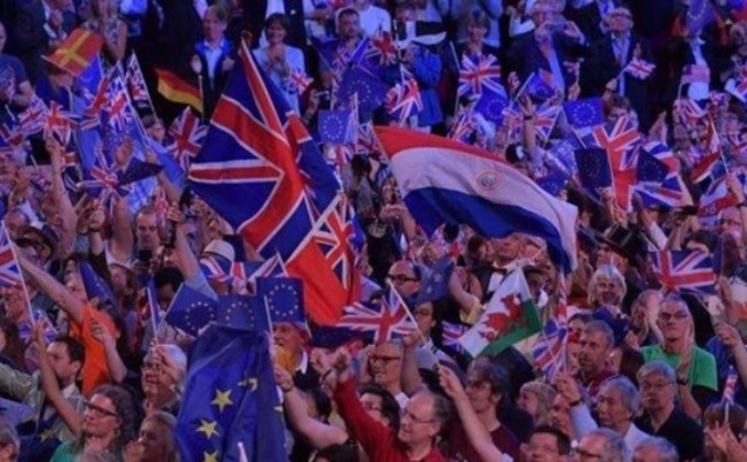 BBC Last Night Proms 2018 - Flags