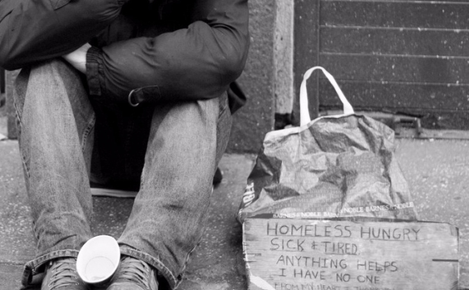 Cooking for the homeless - Manchester