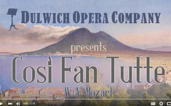 Dulwich Opera Company - Così fan tutte
