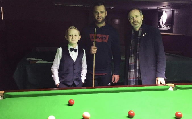 Help 10-year-old Dylan Smith enter Snooker Tour