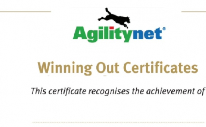 Winning Out Certificates