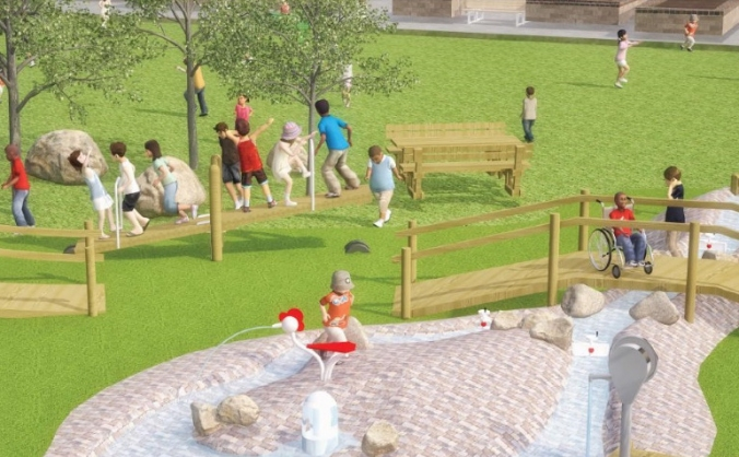Pittville Park Play Area