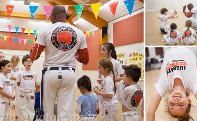 Capoeira Martial Arts for Kids