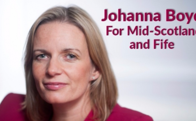 Help Johanna Boyd become a Scottish Labour MSP