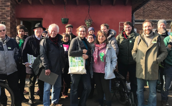 Help getting our first Green Councillors elected