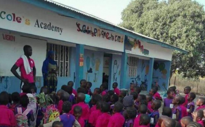 Fundraising to supply a community school