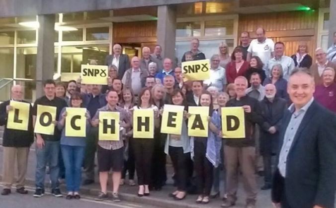 Re-elect Richard Lochhead