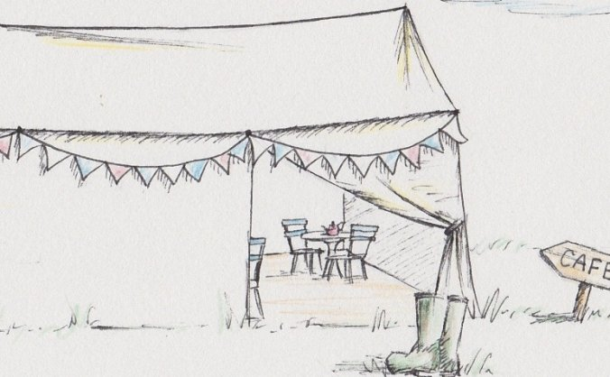 Canvas Cafe @ Country Bumpkin Yurts