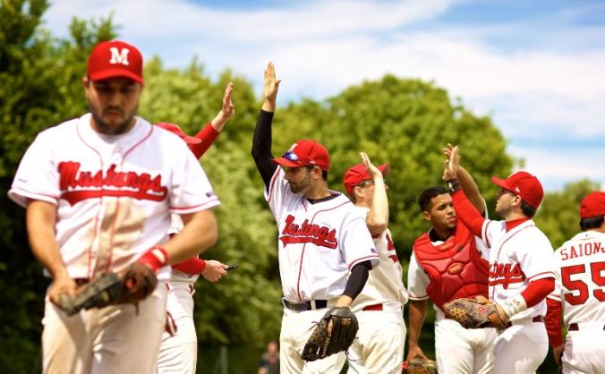 Mustangs represent British Baseball in CEB