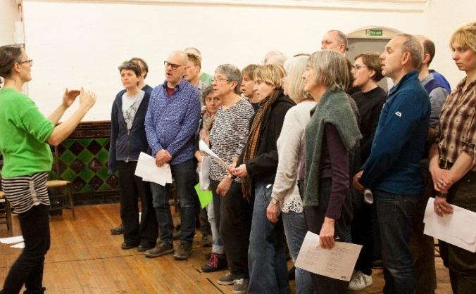 Morris Folk Choir 10th Birthday CD