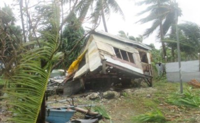 Rebuilding FIJI after cyclone