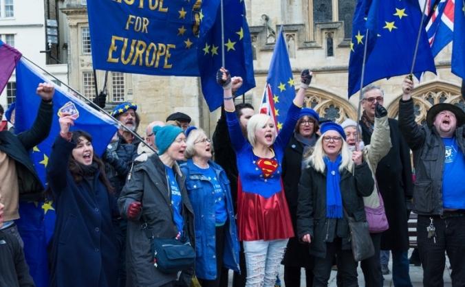 29th March EU Super Hero Protest