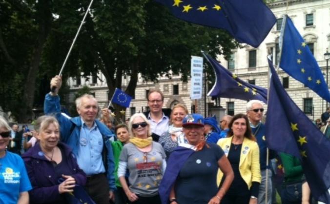 Suffolk EU Alliance Great Eastern March