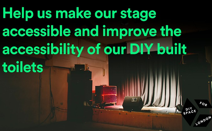 Help us build a new accessible stage and toilets!