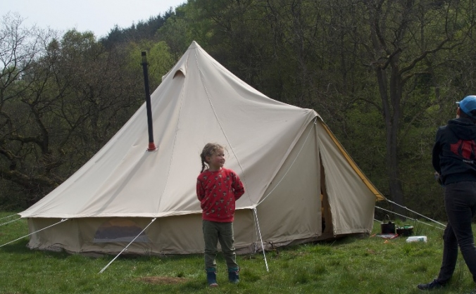 Customers ask us to provide a camping experience