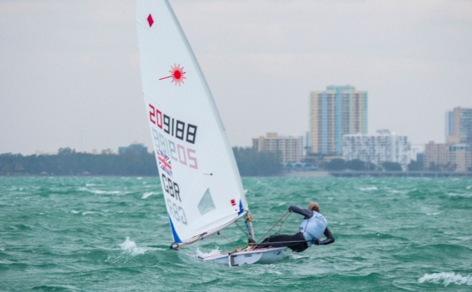 New Laser Radial for Hannah's 2018 sailing season.