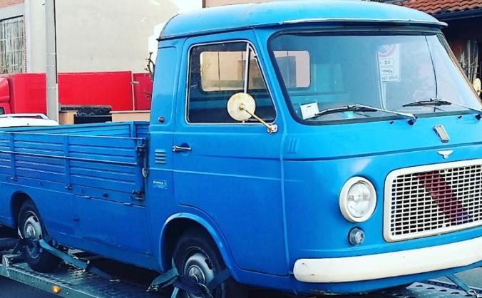 The Van From Milan - Kitchen Conversion.
