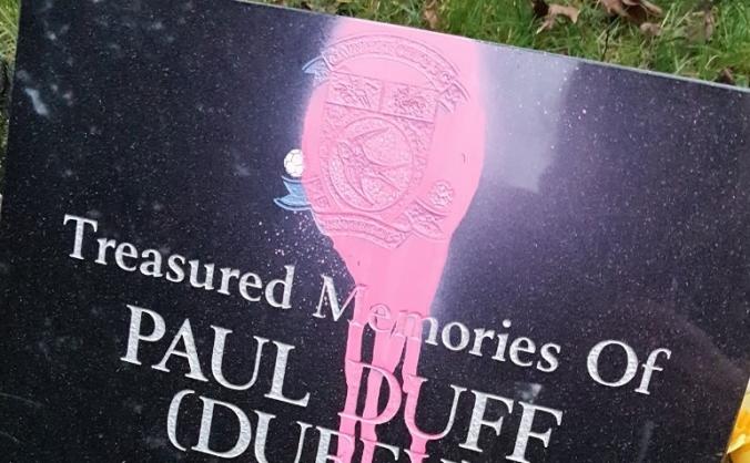 Paul Duff headstone repair