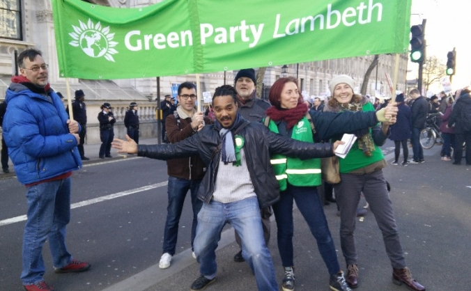Lambeth Green Party London  Elections 2016