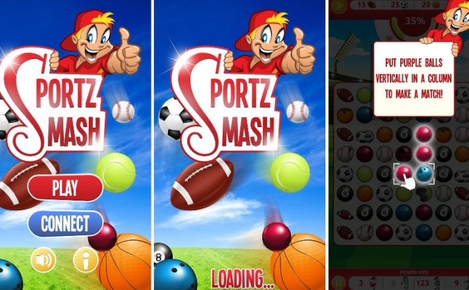 Sportz Smash Mobile App Game
