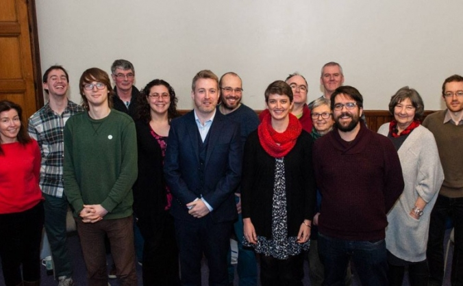 North East Greens Holyrood Campaign Launch